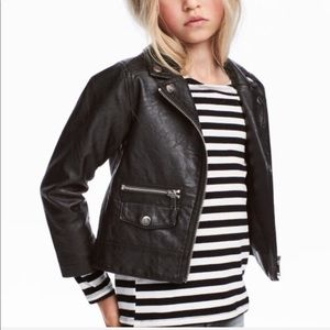 H&M Leather Jacket (Youth)